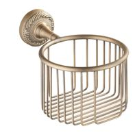 Latest Bathroom Designs Shower Soap Holder Hollowed Out Soap Basket Brass