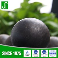 steel ball manufacturers carbon steel cast / forged ball mill grinding media steel balls