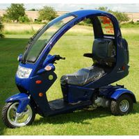 Three wheel scooter with roof thumbnail image