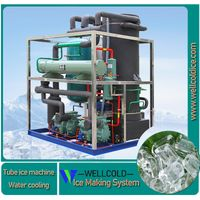 5T 8T 10T tube ice maker machine with Bitzer compressor