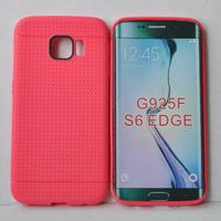 For Samsung Galaxy S6 & S6 Edge Silicone rubber protective case cover