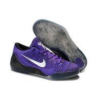 2015 Nike Kobe 9 Elite Low Hyper Grape Purple Sliver basketball shoes