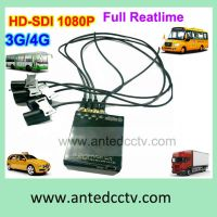 High Definition 4 Channel 1080P MDVR for Taxi, Bus, Boat, Train, Tank, Police Car Used