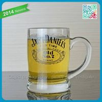 Christamas hot sale glass beer mugs wheat beer glass bottle made in promontial beer glassware in sum