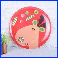 Christmas design melamine dinner plate