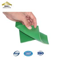 green 12mm insulating marine rubber mat