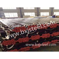 Seamless steel pipe and welded pipe