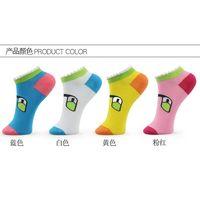 Cute Socks with Glass Duck pattern