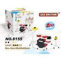 drum set nano blocks