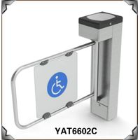Disabled Used Swing Turnstile For Heathcare Access Control thumbnail image