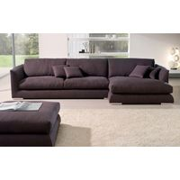 living room furniture detachable feather filling fabric l shaped sectional sofa