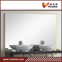 silver mirror for bathroom