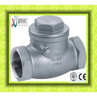 H14W Female Swing check valve