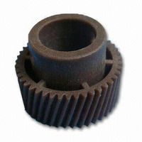 Injection mould for gears