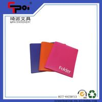 Factory Directly PP Stationery Translucent File Folder A Tadpole Clip thumbnail image