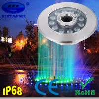 CE RoHS Certification and Stainless Steel Lamp Body Fountain led light