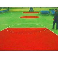PVC sports plastic waterproof flooring for indoor basketball court