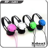 2014 hot selling kids custom designed headphone with noise cancelling