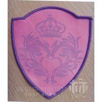Back glue woven &printed labels badge thumbnail image