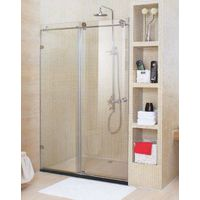 Carbuncle 6mm Tempered clear glass door shower screen