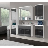 Hot Gloss Lacquer Modern Style Furniture Bathroom Cabinet-P9064