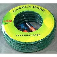 High Quality Durable Flexible Fiber Braided High Pressure Reinforced PVC Garden Hose thumbnail image