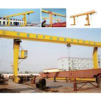 L type single girder gantry crane thumbnail image