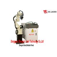 Laser welding machine with robot arm thumbnail image