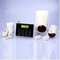 PSTN/GSM Dual Network home alarm System