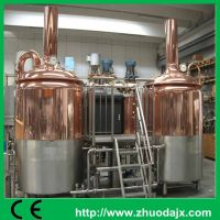 Alibaba Gold suplier electric heating way 300L beer brewery system thumbnail image