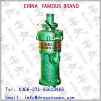 Electric water pump irrigation