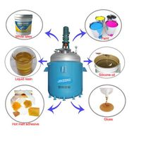 High Quality Jinzong Machinery Stianless Steel Continuous stirred tank reactor