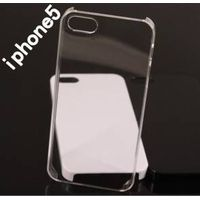 Black, Clear, White Mobile Phone Case for iPhone 5
