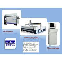waterjet steel stainless steel cutting machine