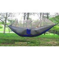 Parachute hammock with mosquito mesh ultralight portable  for outdoor travel camping leisure Hammock thumbnail image