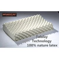 Talalay Technics Process 100% Nature Latex Foam Pillow Massage Pillow
