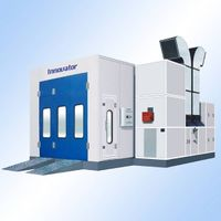 Spray Booth with CE
