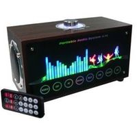 Rechargeable SD/MMC/MP3 Player  Mobile Speaker with Remote Control (A-76)