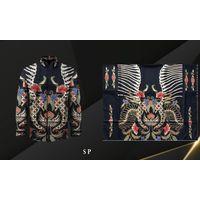 Handmade Prada Silk Batik Fabrics, Style 17