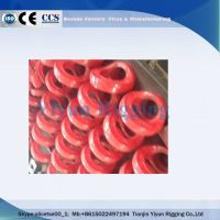 High quality customized g80 eye screw hoist ring supplier made in China