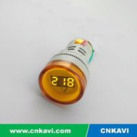 AC Digital Voltage meter Voltmeter 22mm