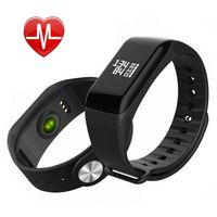 smart barcelet fitness tracker sports health monitor pedometer heart heart rate