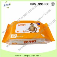Cheap wet wipes Cleaning Anti-bacterial wet baby wipes manufacturer from China thumbnail image