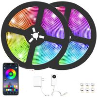 Hot sale smart wifi & bluetooth control amazon waterproof LED light strip for party