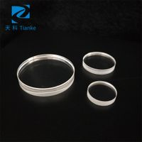 factory supply sapphire optical plano clear glass lens or window