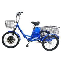 Newest 350W Geared Motor Electric Tricycle with Lead Acid Battery (TC-017N) thumbnail image