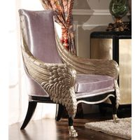 Luxury hand carved wooden chair, arm chair, leisure chair
