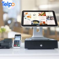 Telpo TPS685 LED customer display computer cash register metal ecr for business thumbnail image