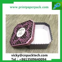 Design Series Cotton Filled Jewelry Box Shimmer Bow Tie Jewelry Boxes Custom Paper Gift Box thumbnail image
