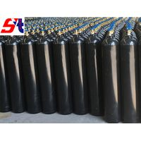 High purity industrial gas nitrogen / nitrogen cylinder